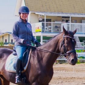 プレミアム乗馬体験、体験乗馬