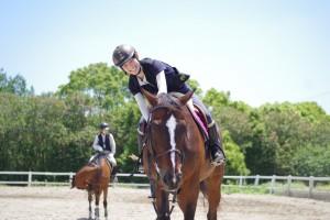 乗馬体験写真