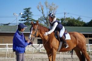 体験乗馬写真